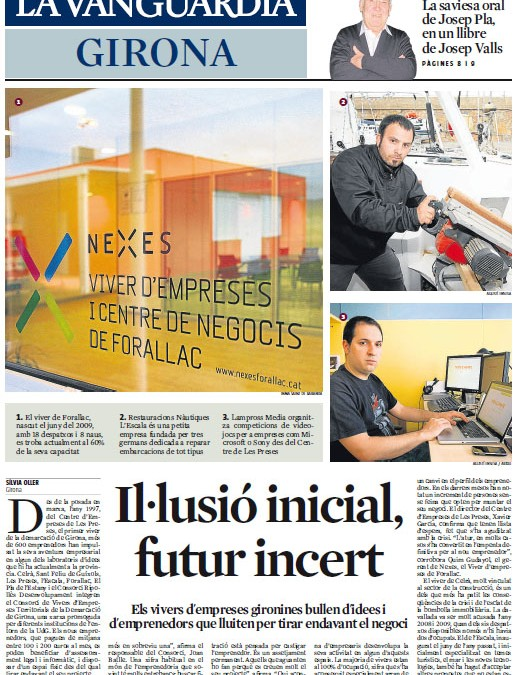 Article de Nexes a La Vanguardia