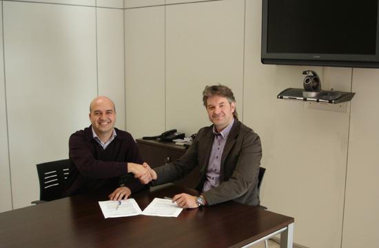 Signatura de conveni entre NEXES i NEEC