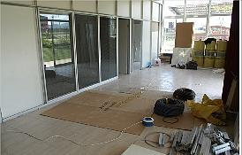 Inicio de las obras de adecuación del Vivero de Empresas de Forallac