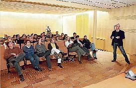 Presentación de NEXES en el Ayuntamiento de Forallac